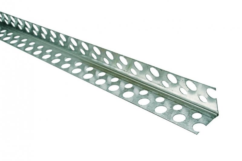 Угловой профиль для перегородок, возводимых из гипсокартонов