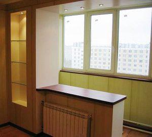 Как законно и правильно объединить лоджию с комнатой