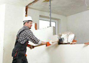 Как снести стену в квартире самому официально и можно ли это сделать без пыли