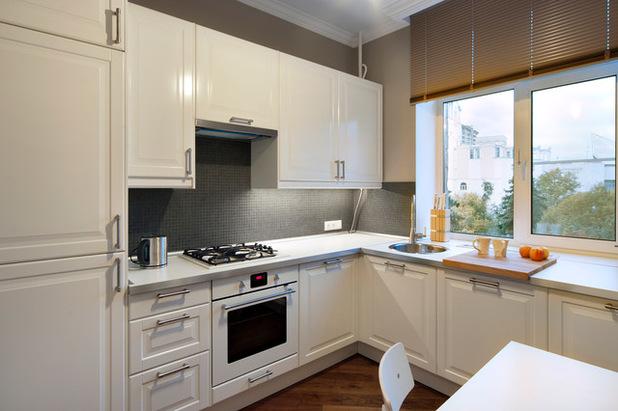 Перенос моек на кухне и их установка у окна
