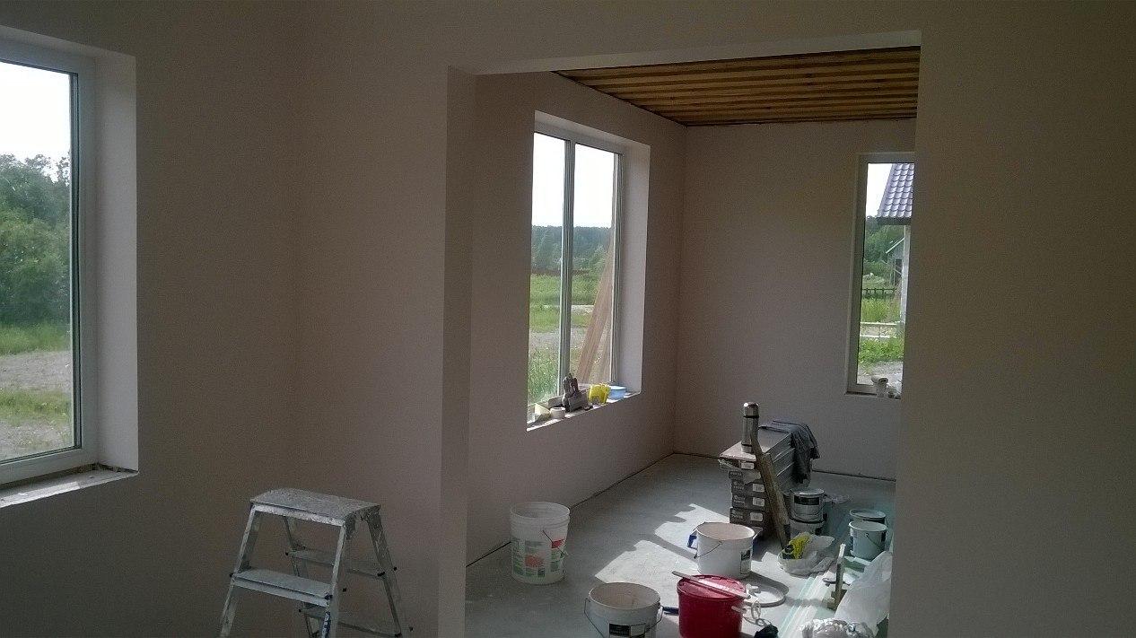 отделка стен помещения профессионально