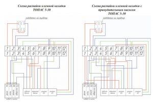 Как подключить блок управления септиком Топас