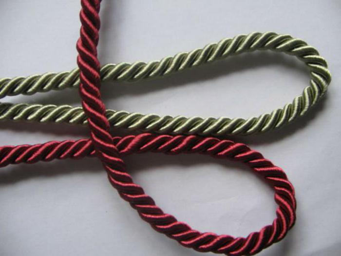 Декоративная шнурка