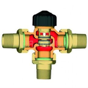 термостатический клапан для систем ГВС