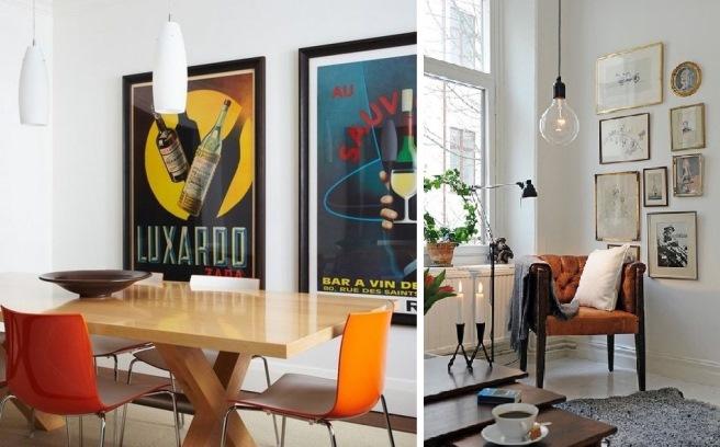 дизайн интерьера и плакаты