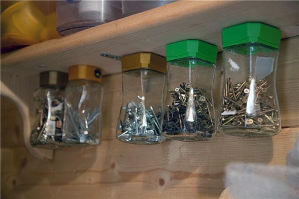 хранение инструментов в мастерской