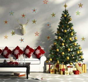 8 крутых новогодних идей: Украшение дома без чрезмерных затрат