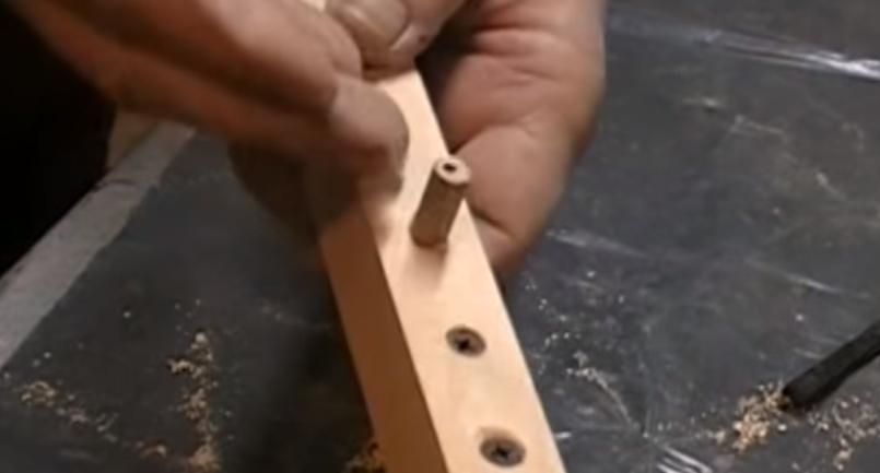 деревянная заглушка