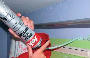 Монтажная пена: полезные хитрости для домашнего мастера
