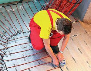 Стержневой инфракрасный пол – лучший вариант подогрева напольной плитки