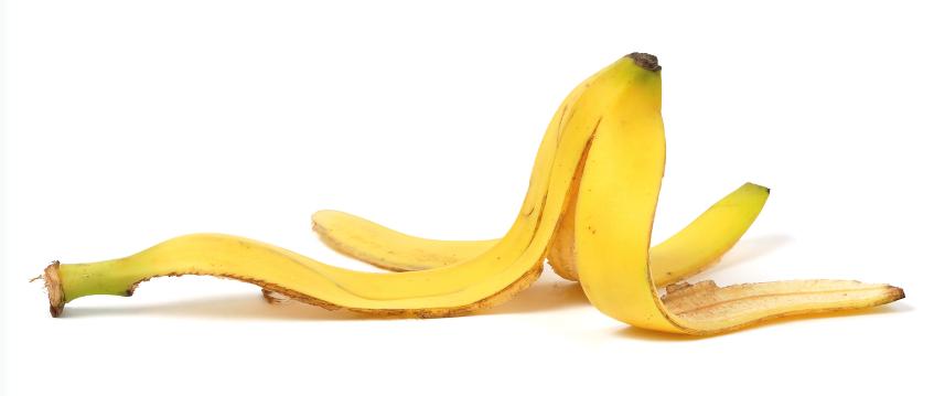 полезные советы про банановую кожуру