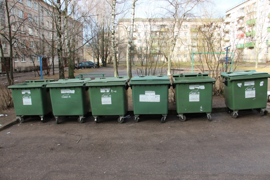 Строительный мусор не для городских мусорных контейнеров