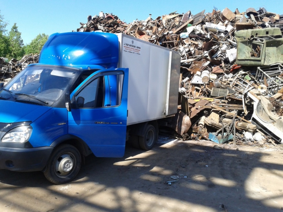 Грузовая ГАЗель для вывоза строительного мусора