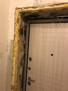 3 доступных способа облагородить дверной проем после установки входной двери