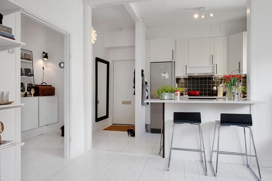 Типовая квартира нуждается в простом внутреннем дизайне