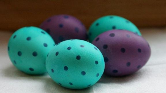 пасхальные яйца-писанки своими руками