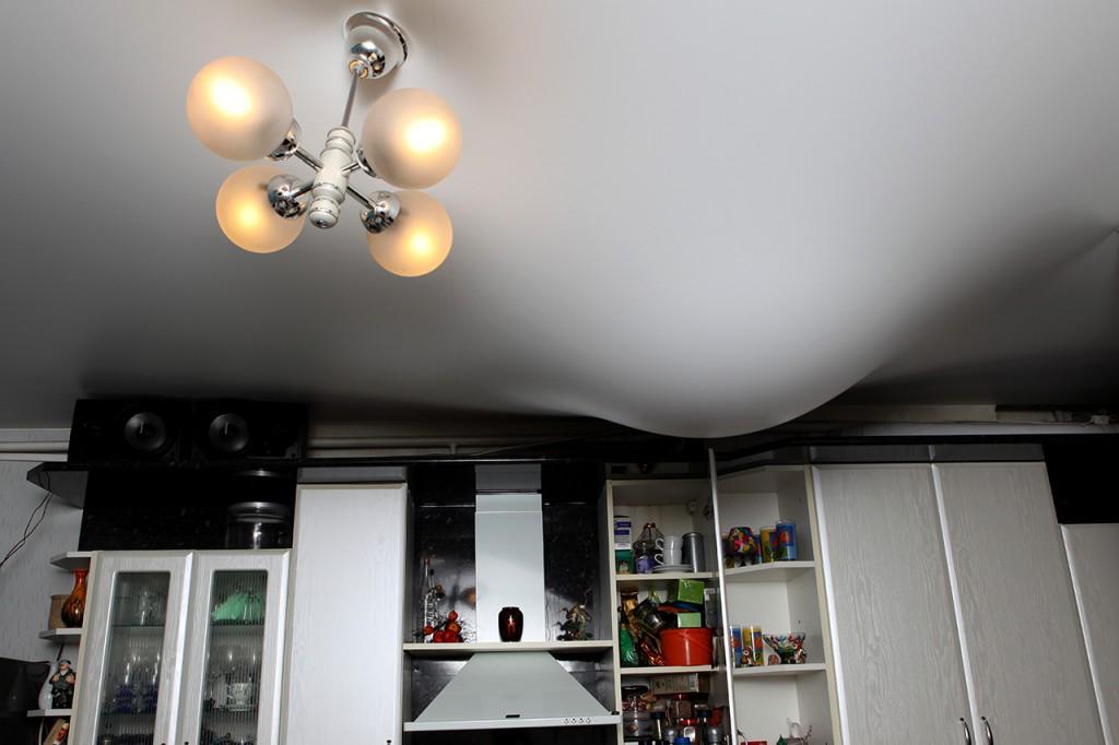 Повторный ремонт не нужен, если есть натяжной потолок
