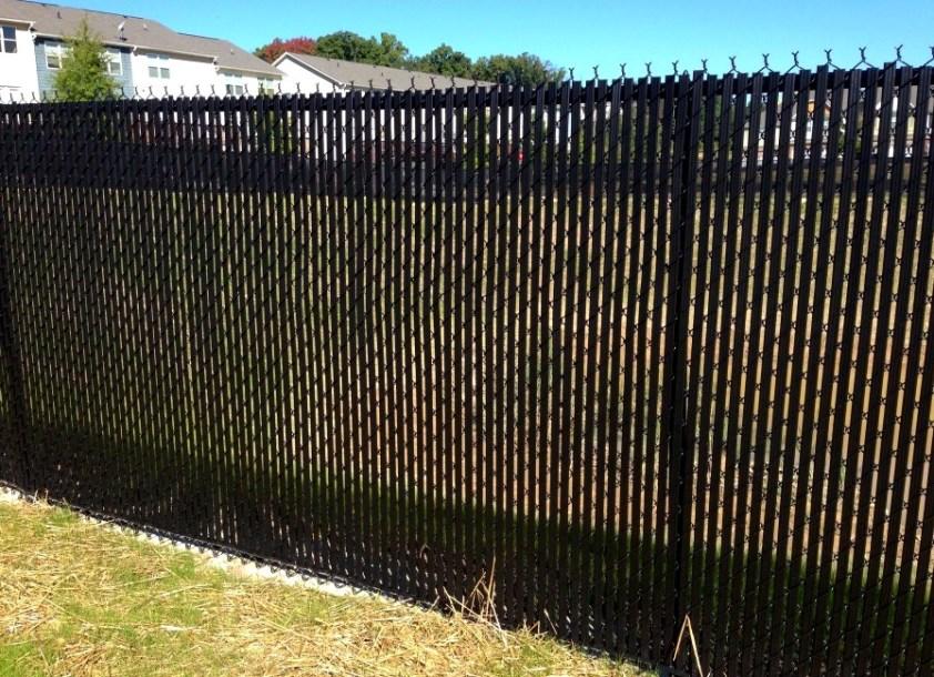 обновленный забор