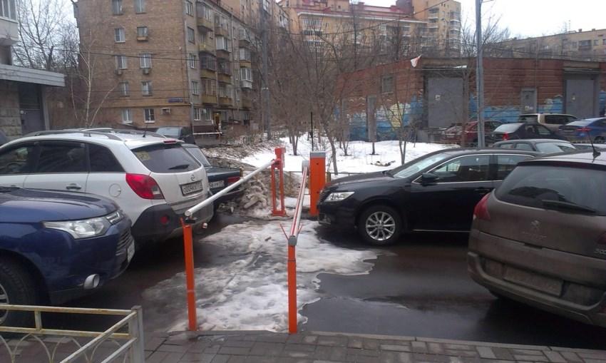 Придомовая территория и организация автопарковки