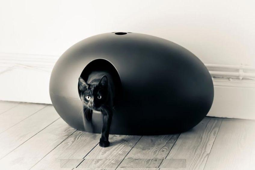 Дизайнерский кошачий туалет