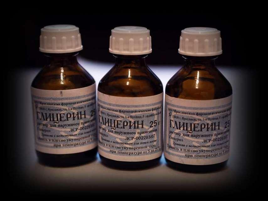 Аптечный глицерин для резиновых прокладок