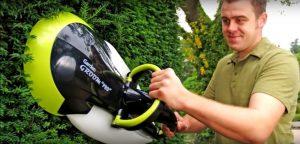 Новые садовые гаджеты: Электрический триммер для сада Groom Pro