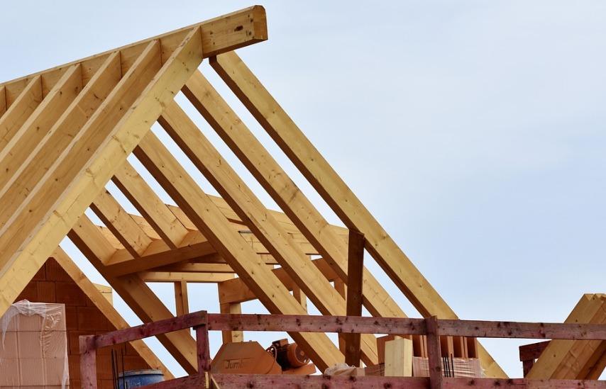 Постройка каркасного деревянного дома