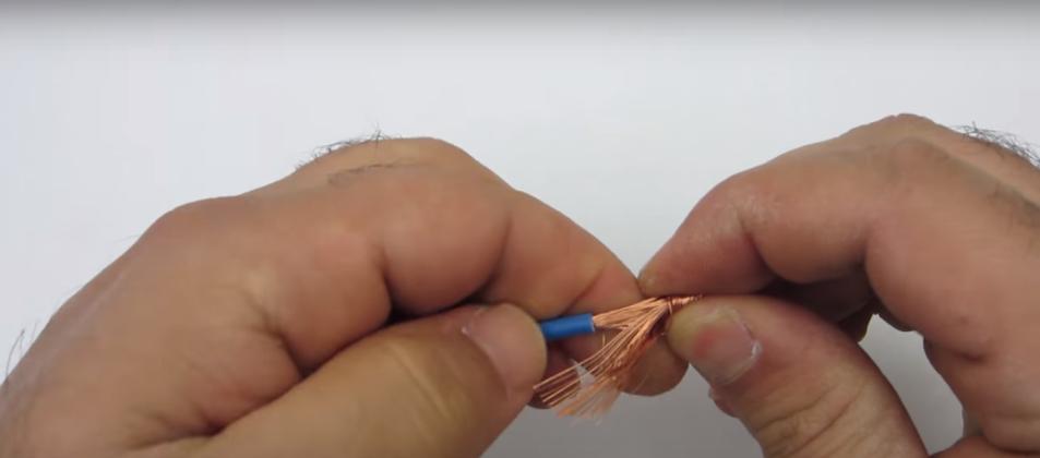 Надежное соединение проводников