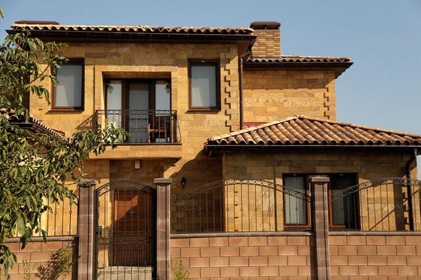 Ракушечник позволяет строить теплые и прочные дома