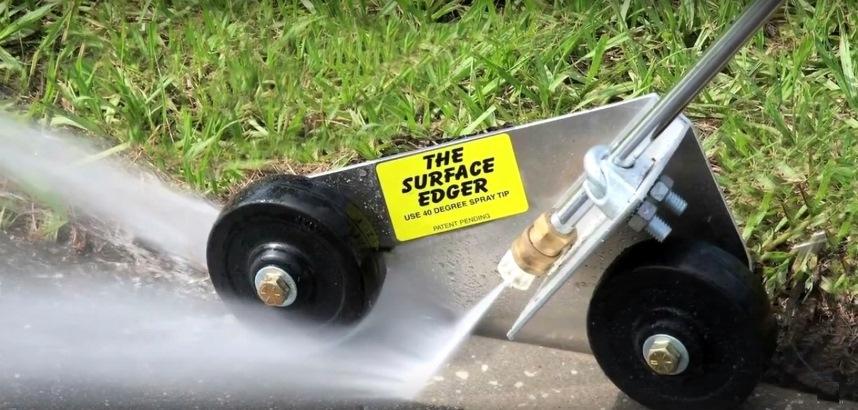 Устройство приспособления Surface Edger