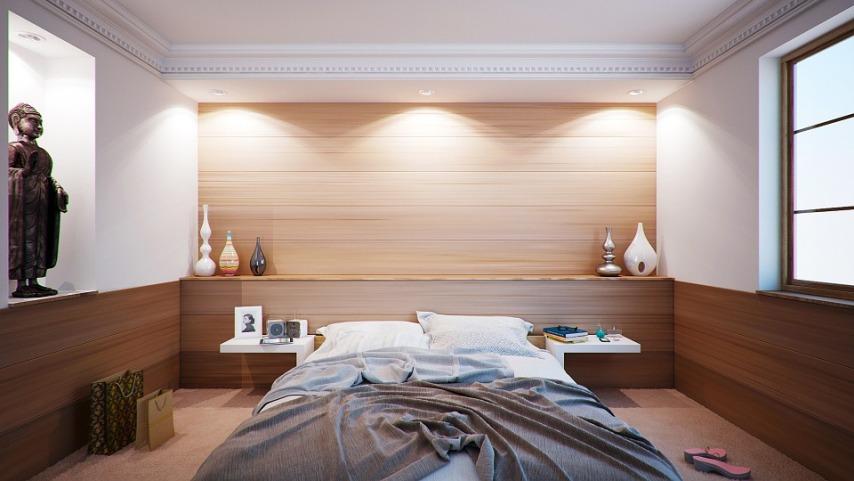 Потолки в помещении - как визуально поднять