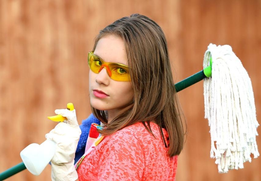 Проведение профессиональной уборки в частном доме