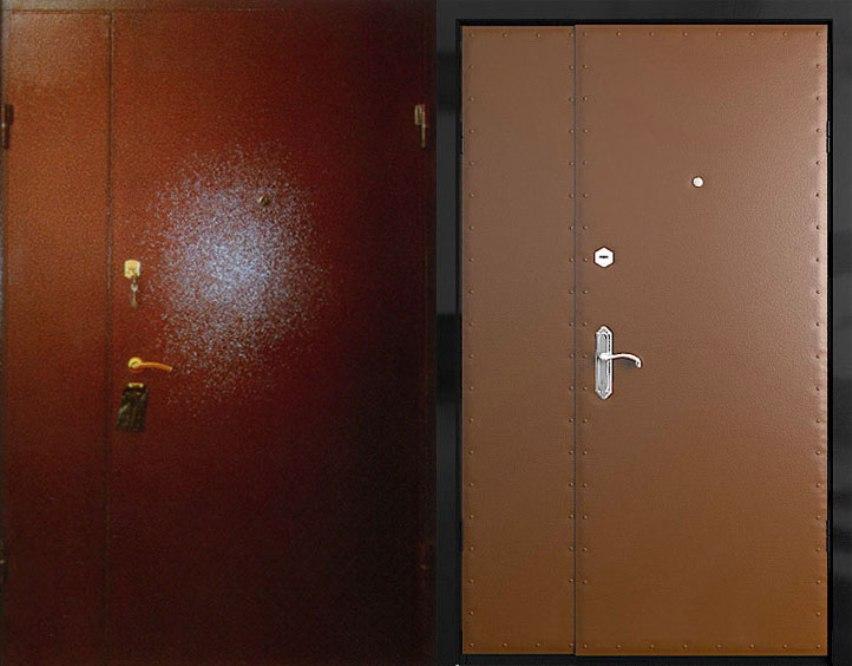 Тамбурные двери металлические и бронированные