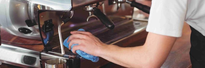 Чистка машины для приготовления кофе