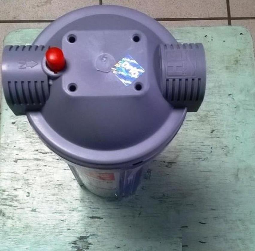 Кнопка сброса давления воды