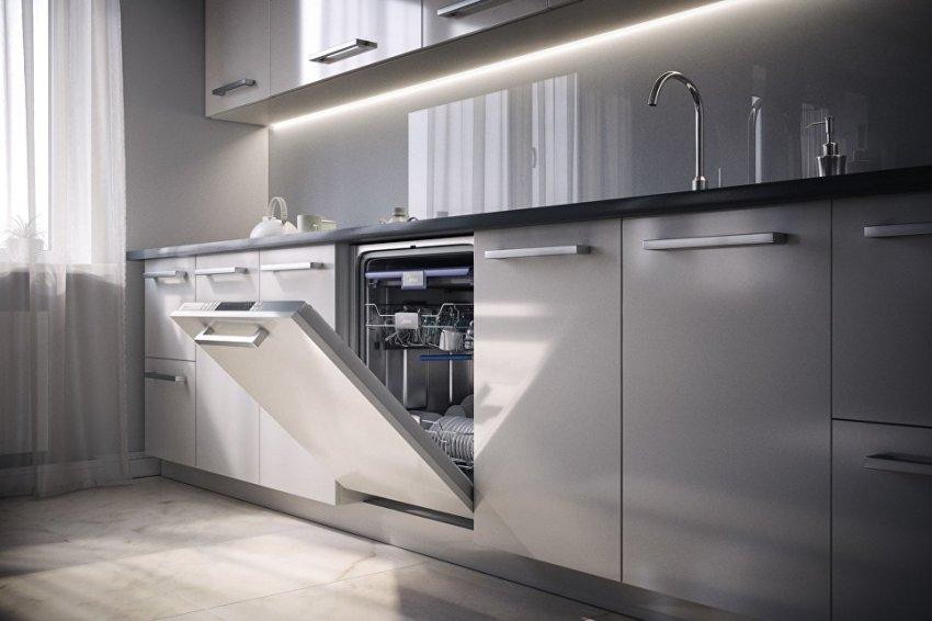 Современные и удобные всраиваемые посудомоечные машины
