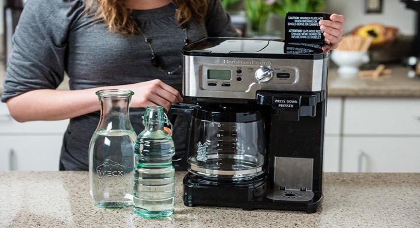 Как выполняется чистка кофемашины с помощью лимонной кислоты