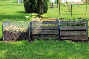 Бюджетное создание компостной кучи