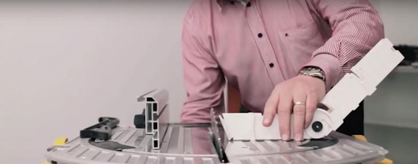Выставление угла пилы с помощью устройства One Cute