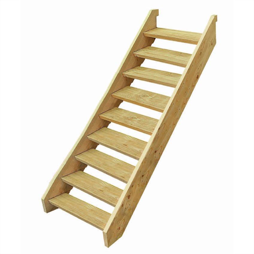 Последовательность изготовления приставной лестницы