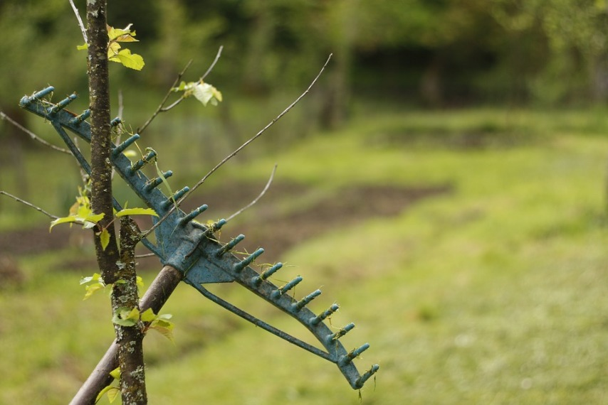 Убираем садовый инструмент на хранение на зиму
