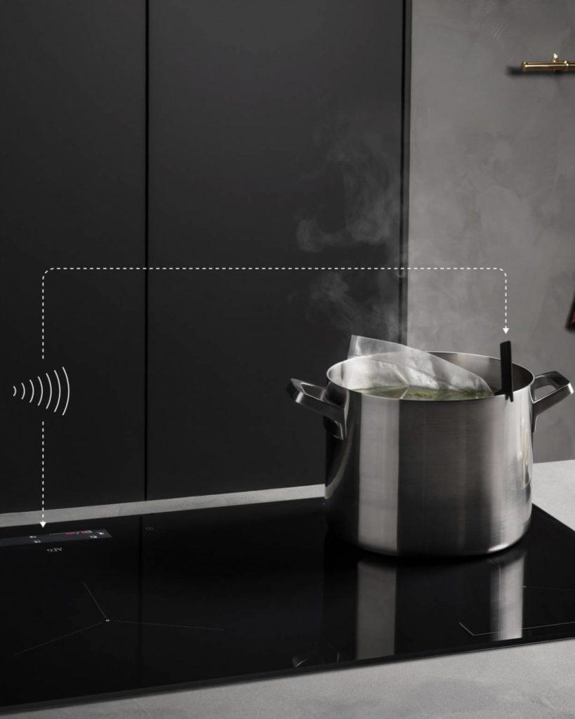 удаленное измерение температуры воды в кастрюле
