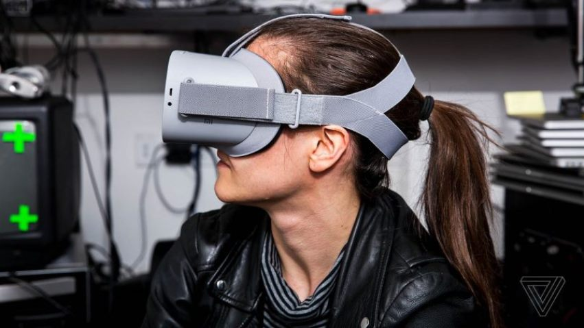 Шлем Oculus Go