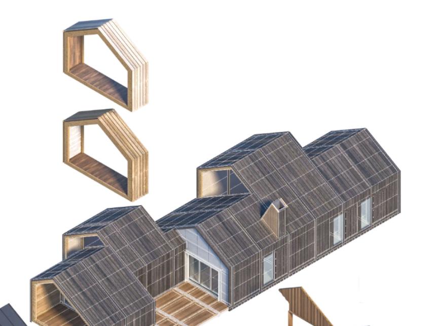 Жилой дом: готовые элементы