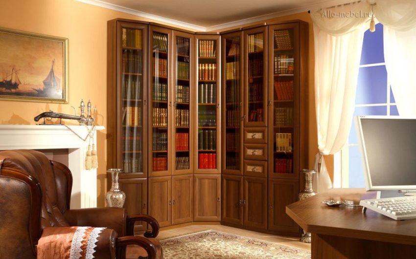 Виды книжных шкафов