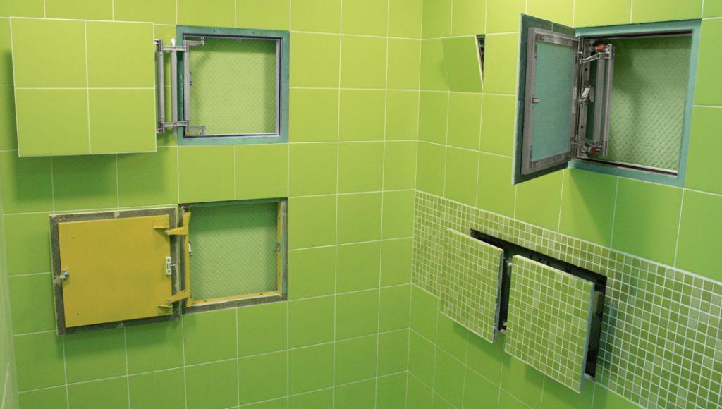 люк в стене для ревизии сантехники