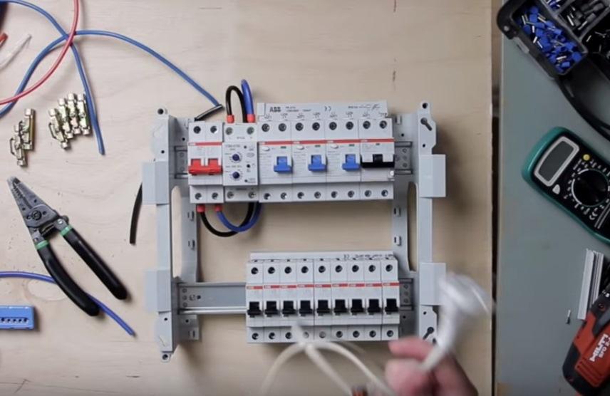 Провода для подачи питания с рубильника на УЗМ