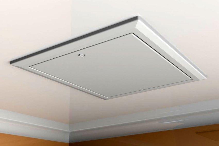 Ревизионный люк в потолке