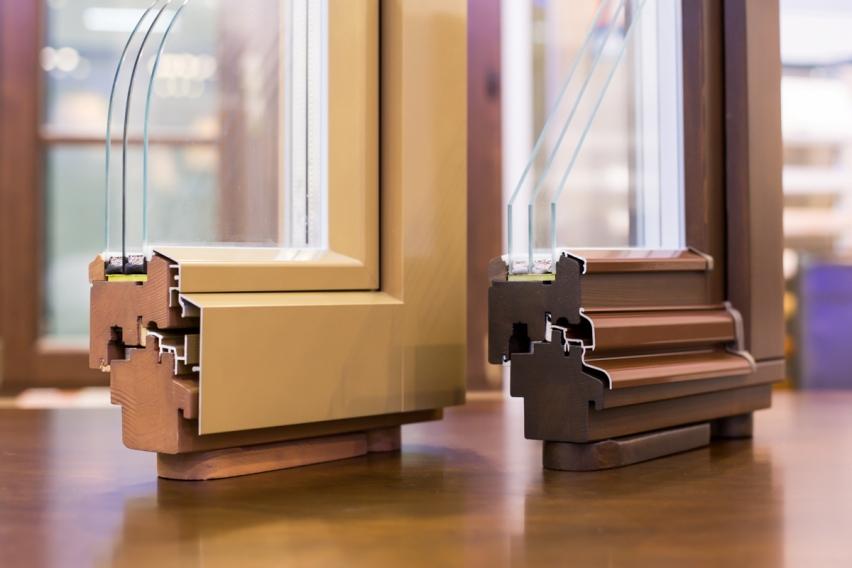 Деревянно-алюминиевые окна
