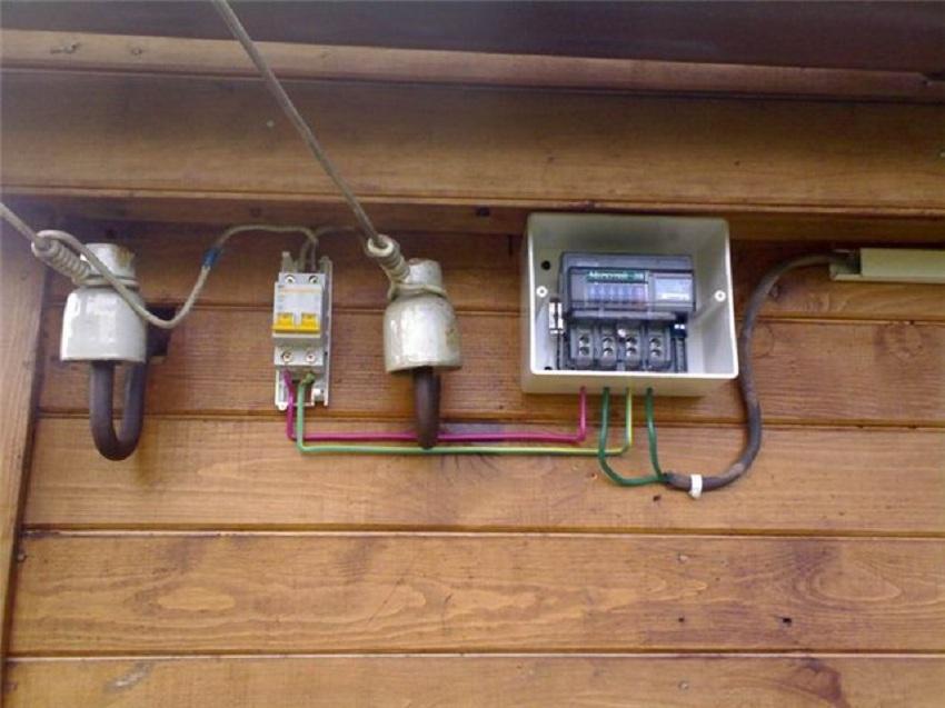 Автоматы и рубильники на даче